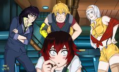 Red Vs Blue, Rwby, Crossover, Humor, Random, Anime, Audio Crossover, Humour, Funny Photos