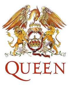 """Lead singer Freddie Mercury, a London art-school graduate, designed the Queen Crest. Surrounding the letter """"Q"""" are the four band members' zodiac signs.  You can vote for the best band logos ever."""
