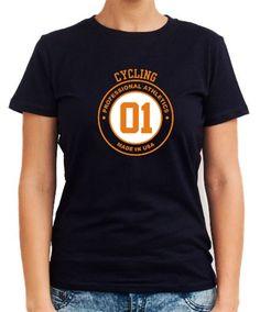 Cycling Made In Usa Women T-Shirts