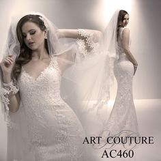 I butikk <3 ABELONE.NO <3 Lace sheath bridal gown with illusion back. The veil is sold separately with matching hem on the edging. AC460 is available in Ivory, White or Ivory Oyster. Call us or visit our facebook page to find your nearest retailer. #artcouture #eternitybridal #weddings #bigday #bridal #bridalgowns #gettingmarried #weddingfashion #weddingdress #lace #illusionback #backdrama #vintagestyle