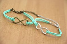 Couples Bracelets Set Hers and Hers Bracelets by BlessedCouples, $3.99