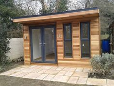 Serenity Garden Rooms Ltd Garden Bar Shed, Summer House Garden, Cedar Garden, Garden Office, Backyard Office, Contemporary Sheds, Contemporary Garden Rooms, Guest House Shed, Tyni House
