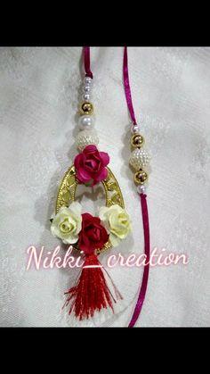 Fabric Bracelets, Diy Bracelets Easy, Handmade Rakhi Designs, Thread Jewellery, Mehndi Designs For Hands, Handmade Decorations, Hair Pins, Flower Jewelry, Drop Earrings