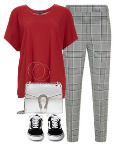 """#214"" by mintgreenb on Polyvore featuring Alexander Wang, Fine by Superfine and Gucci"
