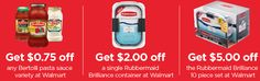 CASHBACK ALERT on Rubbermaid Brilliance Containers & Bertolli Sauces at Walmart here ➡ http://disq.us/t/2jqz6u8 #ad #PremiumPrep
