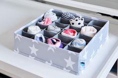 Organizator pentru sertar  - Gri Toy Chest, Storage Chest, Cube, Cabinet, Toys, Interior, Furniture, Material, Home Decor