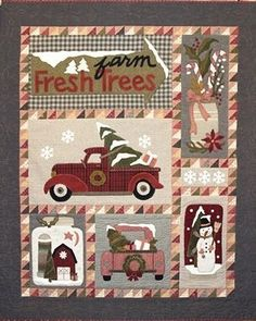 Bringing Home The Tree – Quilting Books Patterns and Notions