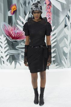 Chanel Spring 2015 Couture Runway – Vogue... CLASSY