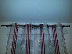 tringle a rideau sans percer pour veranda. Black Bedroom Furniture Sets. Home Design Ideas