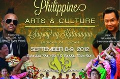 Filipino arts festival in Los Angeles this coming weekend :).