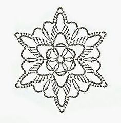 Watch The Video Splendid Crochet a Puff Flower Ideas. Phenomenal Crochet a Puff Flower Ideas. Crochet Snowflake Pattern, Crochet Stars, Christmas Crochet Patterns, Crochet Snowflakes, Granny Square Crochet Pattern, Crochet Diagram, Afghan Crochet Patterns, Thread Crochet, Crochet Motif