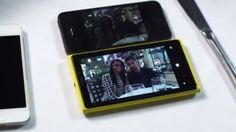iPhone 5 Smoked by Nokia Lumia 920 In Street Test [video]