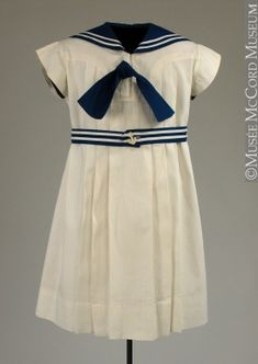 Girl's Sailor Dress 1930, Canadian ... would like in my size and now