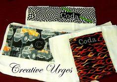 baby boy burp cloth ideas