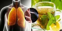 Voici comment les fumeurs et ex-fumeurs peuvent nettoyer leurs poumons rapidement avec cette boisson naturelle !...
