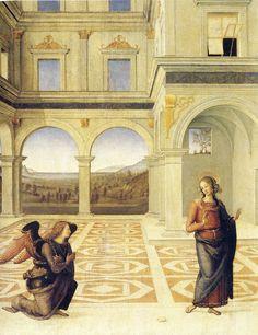 L'Annonciation de la Vierge, Le Perugin
