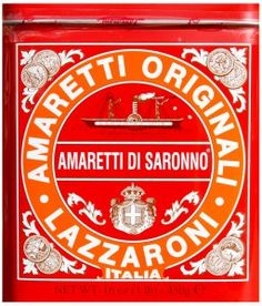 Love Lazzaroni's Amaretti Di Saronno Cookies, flavored with amaretto almond-flavored liqueur.....and having the lovely Italian waiter tell you to make a wish, and lighting the paper wrapper and watching it float your wish to the stars...