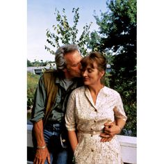 Bridges of Madison County...love their story.I would have opened the door and gone with him.
