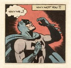 "[A comic panel: Batman looks stunned, and thinks, ""This ain't rock 'n' roll!"" A caption above asserts, ""This is genocide! Book Art, Comic Books Art, Comic Art, Dc Comics, Funny Comics, Batman Comics, Bd Pop Art, Tv Movie, Where Is My Mind"