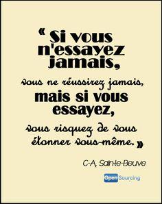 Citation de Charles-Augustin Sainte-Beuve, écrivain