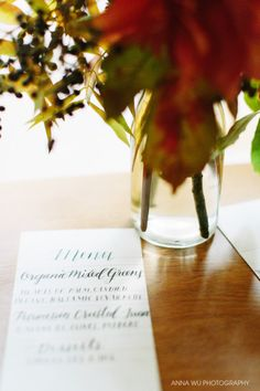 Calligraphy & Centerpieces Workshop in San Francisco - Brown Fox Calligraphy, Anna Wu Photography, Hawthorn Flower Studio