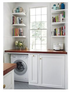 Hidden Washer And Dryer Southern Living March 2014