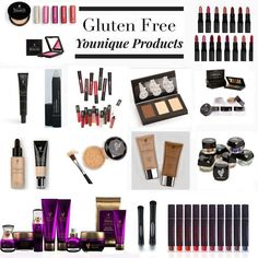 Gluten free Younique products