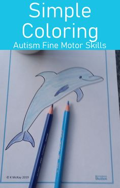 Looking for simple coloring sheets to help your kids with autism develop their fine motor skills? Download these printables today from Curriculum For Autism for your classroom or home school