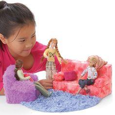 DIY Barbie Furniture!