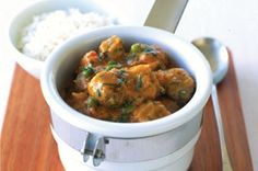 This hearty curry is low in fat, full of flavour and budget-friendly too.