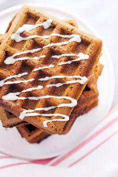 Teff flour makes gingerbread an acceptable breakfast. (V+GF)