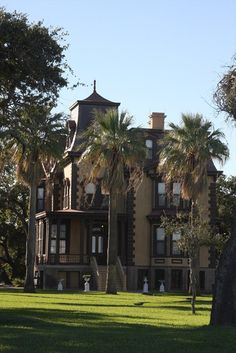 The Fulton Mansion is one of the finest examples of French Second Empire home architecture in Texas, and well worth a tour when in Rockport TX.