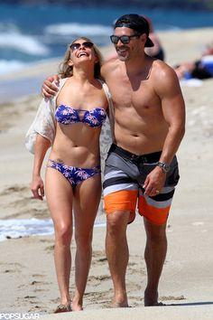 LeAnn Rimes and Eddie Cibrian Are Back to Their Sexy Beach PDA