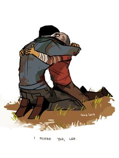 Clem and Lee. Excuse me while I CRY MY EYES OUT :'(