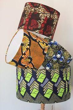 Abat-jour [#pagne #wax #tissuafricain]