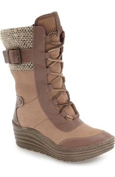 bionica Garland Waterproof Wedge Boot (Women) available at #Nordstrom