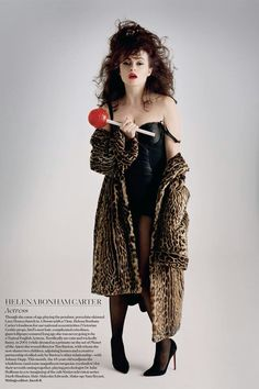 Hena Bonham Carter for Vogue Helena Bonham Carter, Helen Bonham, Helena Carter, Vogue Uk, Vogue China, Vogue Japan, Vogue Russia, Vogue Paris, Tim Walker Photography