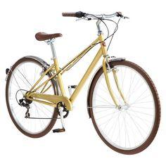 "Schwinn Women's Mifflin 28"" Hybrid Bike- Gold 40 pounds, might be hard to get rack on rear"