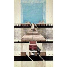 archarchiva:  Aldo Rossi #archarchive #architecture #architecturalmodel…