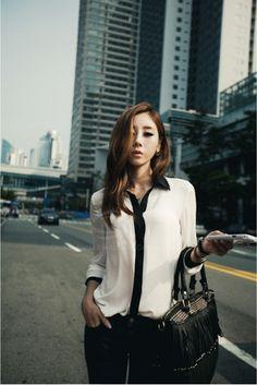 Spring Clothing Glamour Long Sleeve Chiffon Shirt For Women (WHITE,ONE SIZE) China Wholesale - Sammydress.com