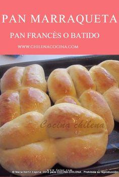 Tradicional pan chileno