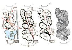 Conceptual Sketches, Conceptual Architecture, Tropical Architecture, Architecture Models, Landscape Architecture, Bubble Diagram Architecture, Architecture Concept Diagram, Urban Design Concept, Urban Design Diagram