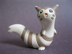 Furret Authentic Tomy Pokemon PVC Figure About 1 5 Inches Tall Nintendo | eBay