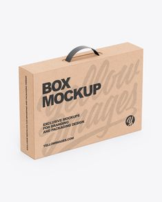 Use this mockup of Kraft Box With Handle in half side (high-angle shot) view for the most effective display of your design High level of usability Contains special layers and a smart object to make this mockup the most suitable for your amazing works Phone Mockup, Box Mockup, Mockup Templates, Kraft Boxes, Best Logo Design, Free Iphone, Box Packaging, Packaging Design, Free Design