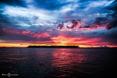 """""""Colours"""" ... Key West Sunset as seen from Mallory Square"""