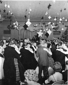 Christmas 1950's - Dance, via Flickr.