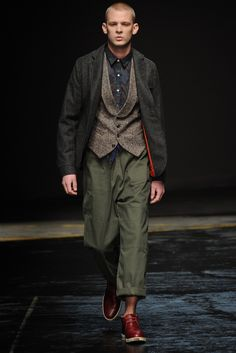 Oliver Spencer Men's RTW Fall 2014 - Slideshow
