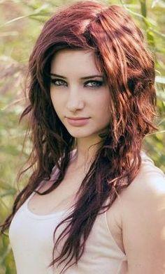 Wavy Hairdo - gorgeous color <3