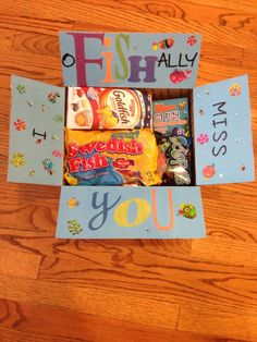 I oFISHally miss you care package. More
