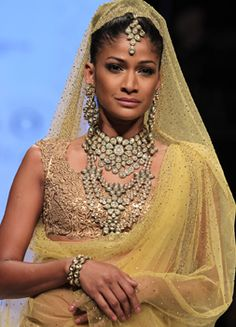 #iijw13 Day 2 - Models walk the ramp for Bhola Sons
